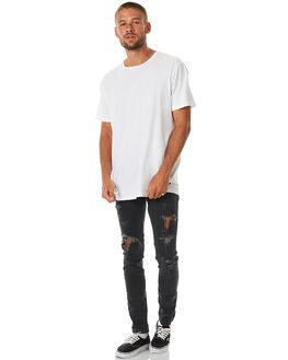 FADED BLACK MENS CLOTHING THE PEOPLE VS JEANS - AW17090-BLK_FBLK