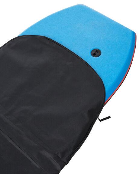 BLACK BLACK BOARDSPORTS SURF NMD BODYBOARDS BOARDCOVERS - NSINGLEBLKBK