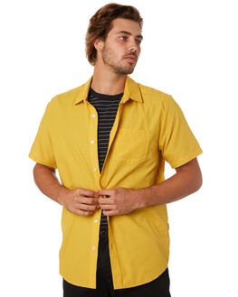 GOLD MENS CLOTHING VOLCOM SHIRTS - A0412008GLD