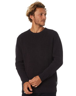 BLACK MENS CLOTHING DEPACTUS KNITS + CARDIGANS - D5171147BLACK