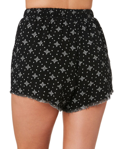 BLACK OUTLET WOMENS SWELL SHORTS - S8171233BLK