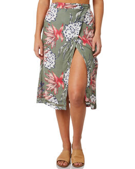 OLIVE HOUSE OF SUN WOMENS CLOTHING ROXY SKIRTS - ERJWK03037GLW7