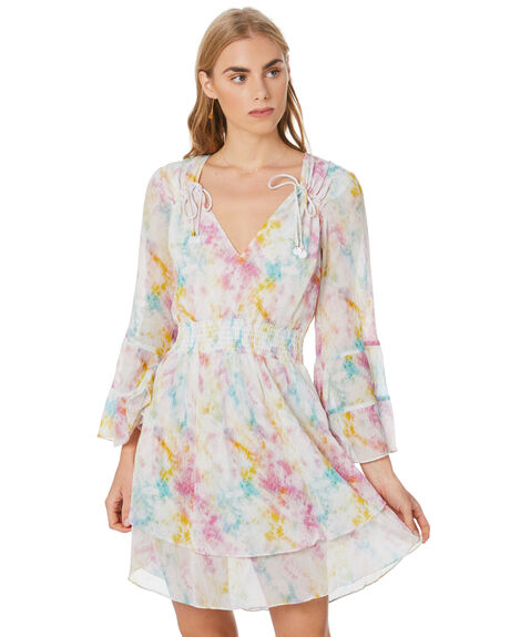 MULTI WOMENS CLOTHING TIGERLILY DRESSES - T305438MLT