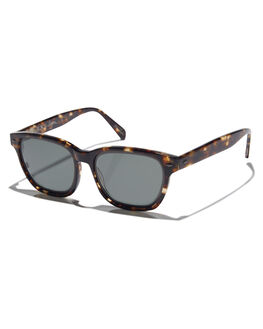 BRINDLE TORTOISE MENS ACCESSORIES RAEN SUNGLASSES - LYN-017-GRN