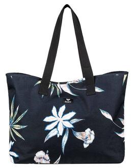 TRUE BLACK FLOWERS WOMENS ACCESSORIES ROXY BAGS + BACKPACKS - ERJBT03131KVJ8