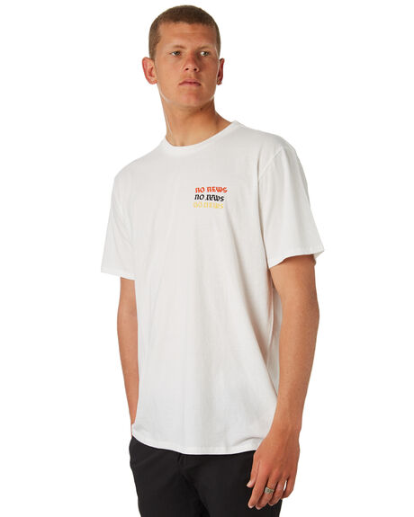 OFF WHITE OUTLET MENS NO NEWS TEES - N5184004OFFWH