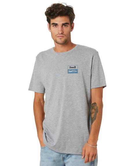 GREY MARLE MENS CLOTHING SWELL TEES - S5202008GRYML