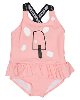 PINK KIDS GIRLS TINY TRIBE SWIMWEAR - TTW18-6030CPNK