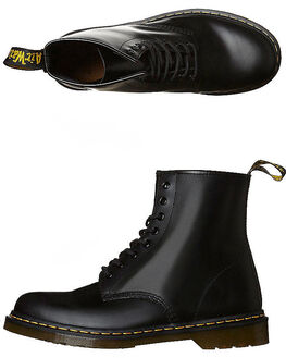 BLACK WOMENS FOOTWEAR DR. MARTENS SNEAKERS - SS11822006BLKW