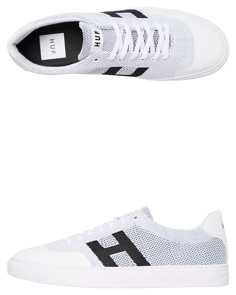 WHITE MENS FOOTWEAR HUF SNEAKERS - CP00029-WHITE