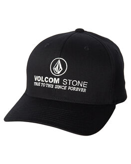 BLACK MENS ACCESSORIES VOLCOM HEADWEAR - D5511911BLK