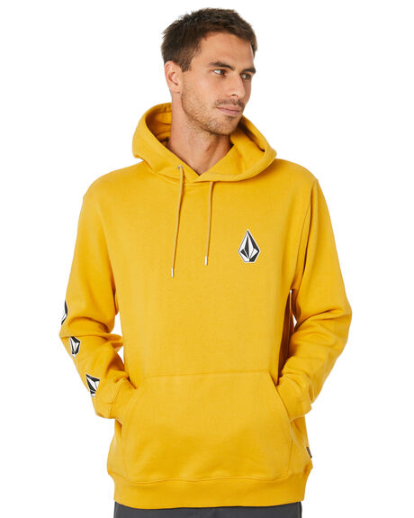 GOLD MENS CLOTHING VOLCOM JUMPERS - A4112000GLD