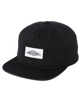 BLACK KIDS BOYS VOLCOM HEADWEAR - F5541801BLK