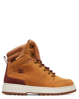 WHEAT MENS FOOTWEAR DC SHOES BOOTS - ADYB700022-WE9
