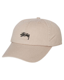 WHITE SAND MENS ACCESSORIES STUSSY HEADWEAR - ST795000WHTS