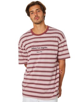 DUSTY PINK MENS CLOTHING STUSSY TEES - ST095102DSPNK