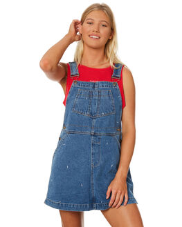 DENIM WOMENS CLOTHING RPM PLAYSUITS + OVERALLS - 8SWD06ADEN