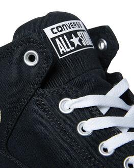 BLACK WHITE MENS FOOTWEAR CONVERSE HI TOPS - 151041BKWH