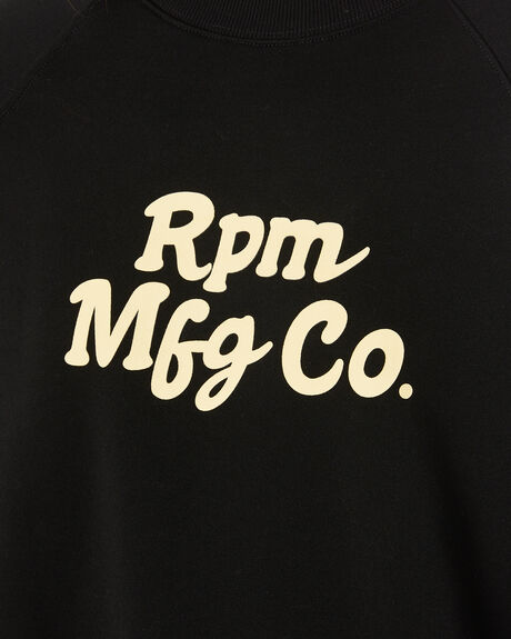 BLACK WOMENS CLOTHING RPM JUMPERS - 20WW08BBLK