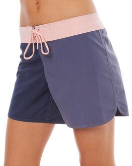 NIGHTSHADOW BLUE WOMENS CLOTHING ROXY SHORTS - ERJBS03093BPT0