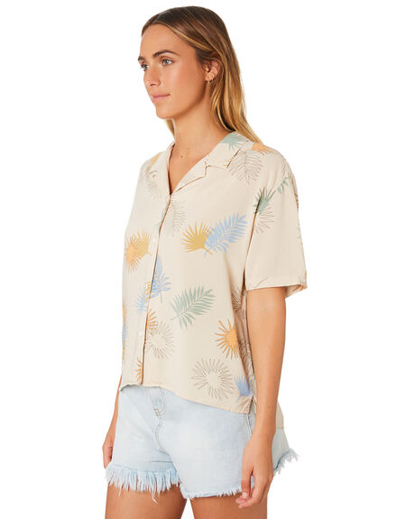 CASHEW FLORAL WOMENS CLOTHING COOLS CLUB FASHION TOPS - 308-CW1CAS