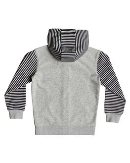 LIGHT GREY HEATHER KIDS BOYS QUIKSILVER JUMPERS + JACKETS - EQKFT03276-SJSH