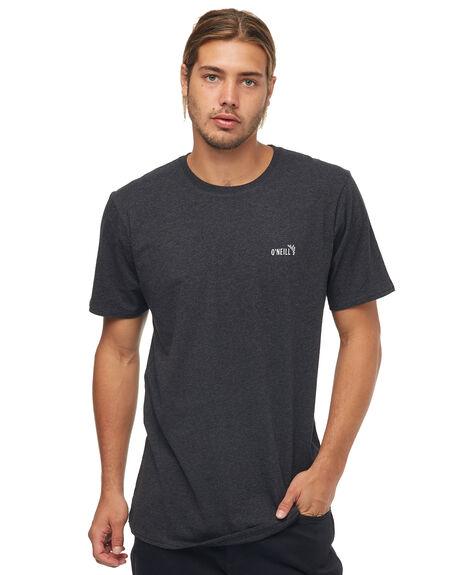 CHARCOAL MARLE MENS CLOTHING O'NEILL TEES - 4511111905