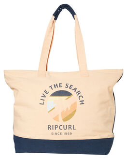 LIGHT PEACH WOMENS ACCESSORIES RIP CURL BAGS + BACKPACKS - LSBNK19724