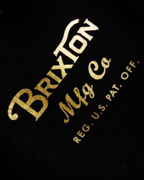 BLACK MENS ACCESSORIES BRIXTON HEADWEAR - 412-00136-0100BLK