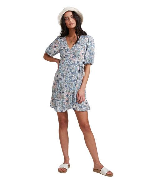 BLUE WOMENS CLOTHING BILLABONG DRESSES - BB-6503493-BLU