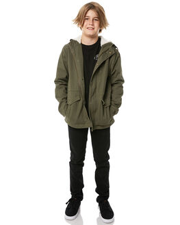 MILITARY KIDS BOYS SWELL JACKETS - S3172381MILIT