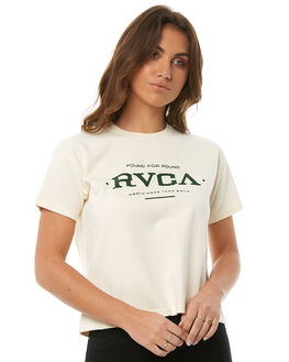 FOREST WOMENS CLOTHING RVCA TEES - R283700FOR
