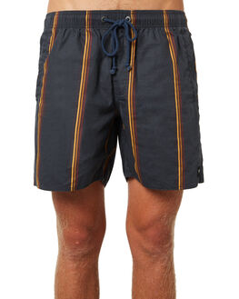 NAVY MENS CLOTHING AFENDS BOARDSHORTS - M184351NVY