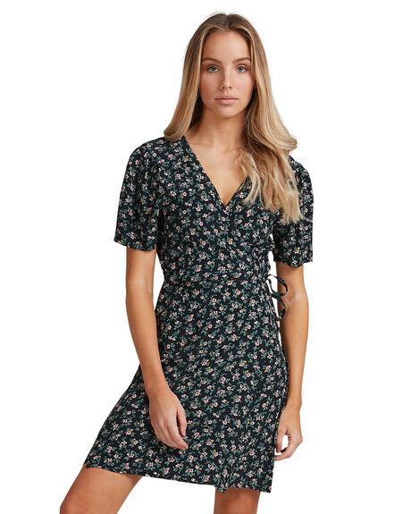 BLACK WOMENS CLOTHING BILLABONG DRESSES - BB-6503479-BLK