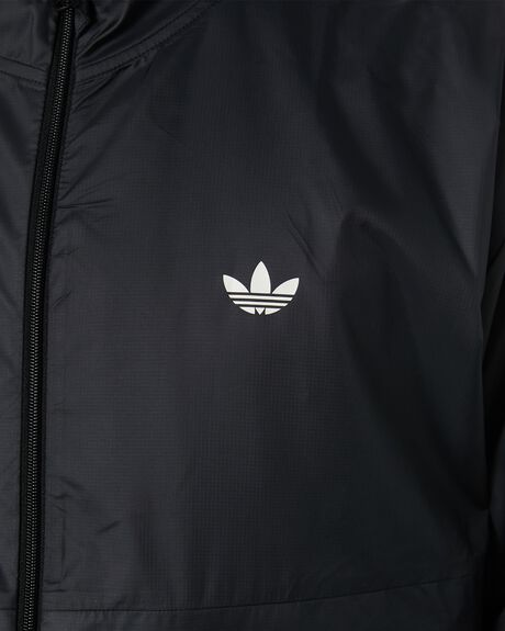 BLACK OFF WHITE MENS CLOTHING ADIDAS JACKETS - GD3541BKOWT