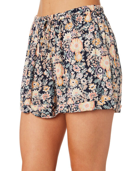 VINTAGE FLORAL WOMENS CLOTHING O'NEILL SHORTS - 4821701VFRL