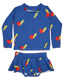 BLUE KIDS BABY TINY TRIBE CLOTHING - TTS17-11004SMBLU