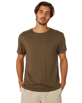 OLIVE MENS CLOTHING RHYTHM TEES - APR19M-CT03-OLI