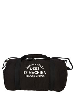 BLACK WHITE MENS ACCESSORIES DEUS EX MACHINA BAGS + BACKPACKS - DMS87876BWHT