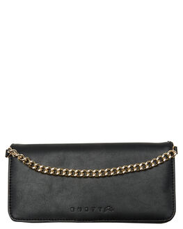 BLACK WOMENS ACCESSORIES RUSTY PURSES + WALLETS - WAL0802BLK