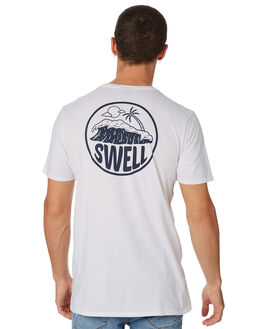 WHITE MENS CLOTHING SWELL TEES - S5182009WHITE