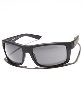FUZZY BLACK GREY MENS ACCESSORIES ARNETTE SUNGLASSES - AN421605