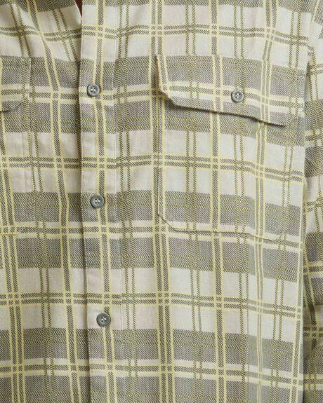 BRUSH LS THYME MENS CLOTHING QUIKSILVER SHIRTS - UQYWT03043-CQY1