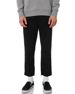 BLACK MENS CLOTHING NO NEWS PANTS - N5182191BLACK