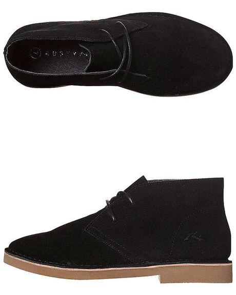 BLACK WOMENS FOOTWEAR RUSTY BOOTS - FCL0161BLK
