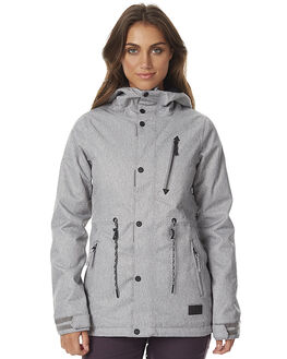 HEATHER GREY SNOW OUTERWEAR VOLCOM JACKETS - H0451705HGR