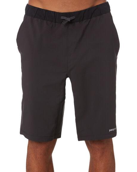 BLACK MENS CLOTHING PATAGONIA SHORTS - 24690BLK