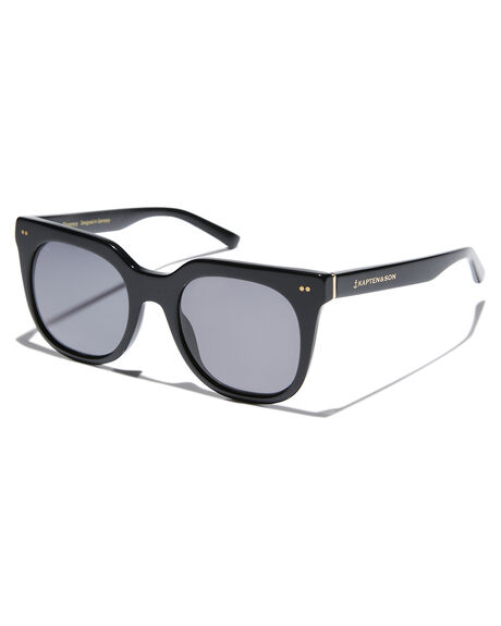 ALL BLACK WOMENS ACCESSORIES KAPTEN AND SON SUNGLASSES - KS-DW00A1500A13DABLK
