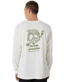 WHITE MENS CLOTHING AFENDS TEES - M182067WHT