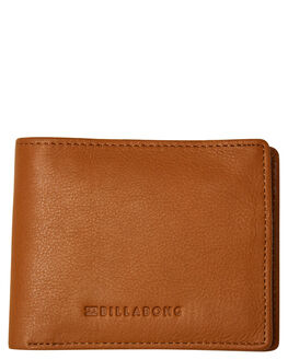 TAN GRAIN MENS ACCESSORIES BILLABONG WALLETS - 9681206BTANG